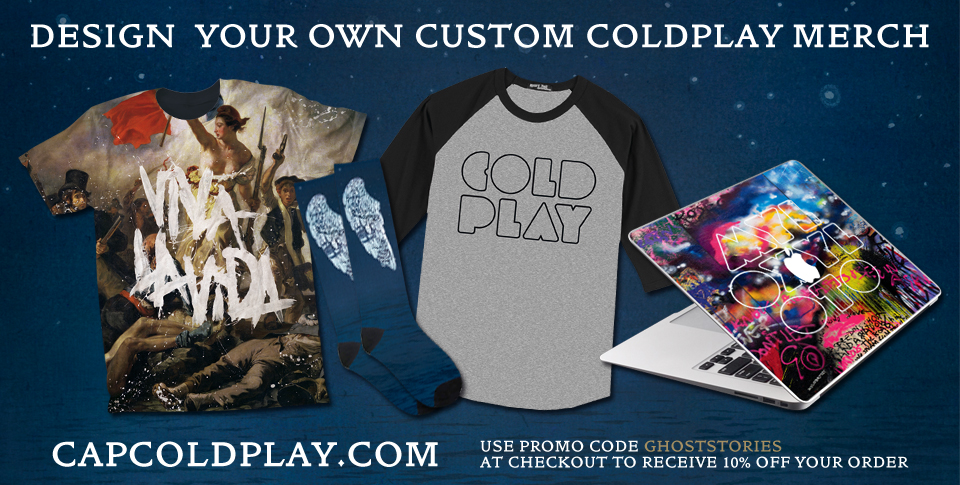 Design your own Coldplay merch | Coldplay