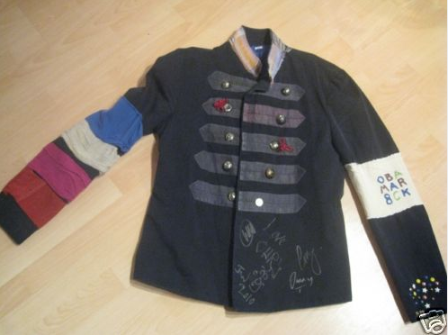 Coldplay auction viva