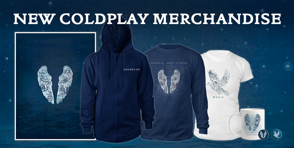 New Ghost Stories range in Coldplay Store | Coldplay