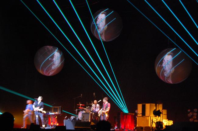 Photoblog live desde Birmingham 02/12/08 Lasersbrum