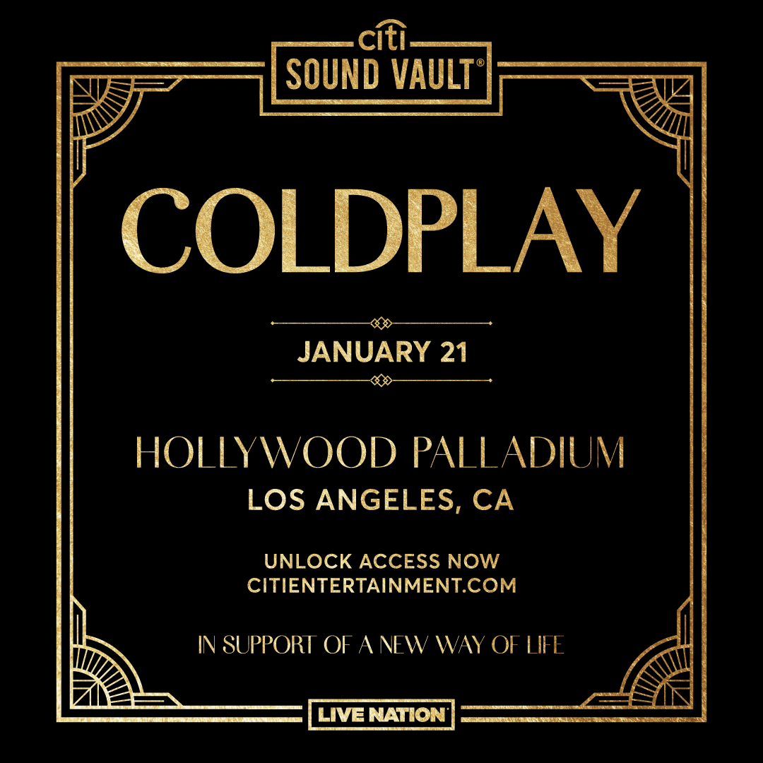 Citi Sound Vault fundraiser in LA on January 21