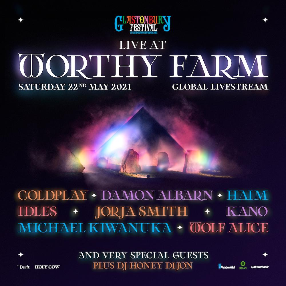 Glastonbury Live At Worthy Farm livestream performance announced